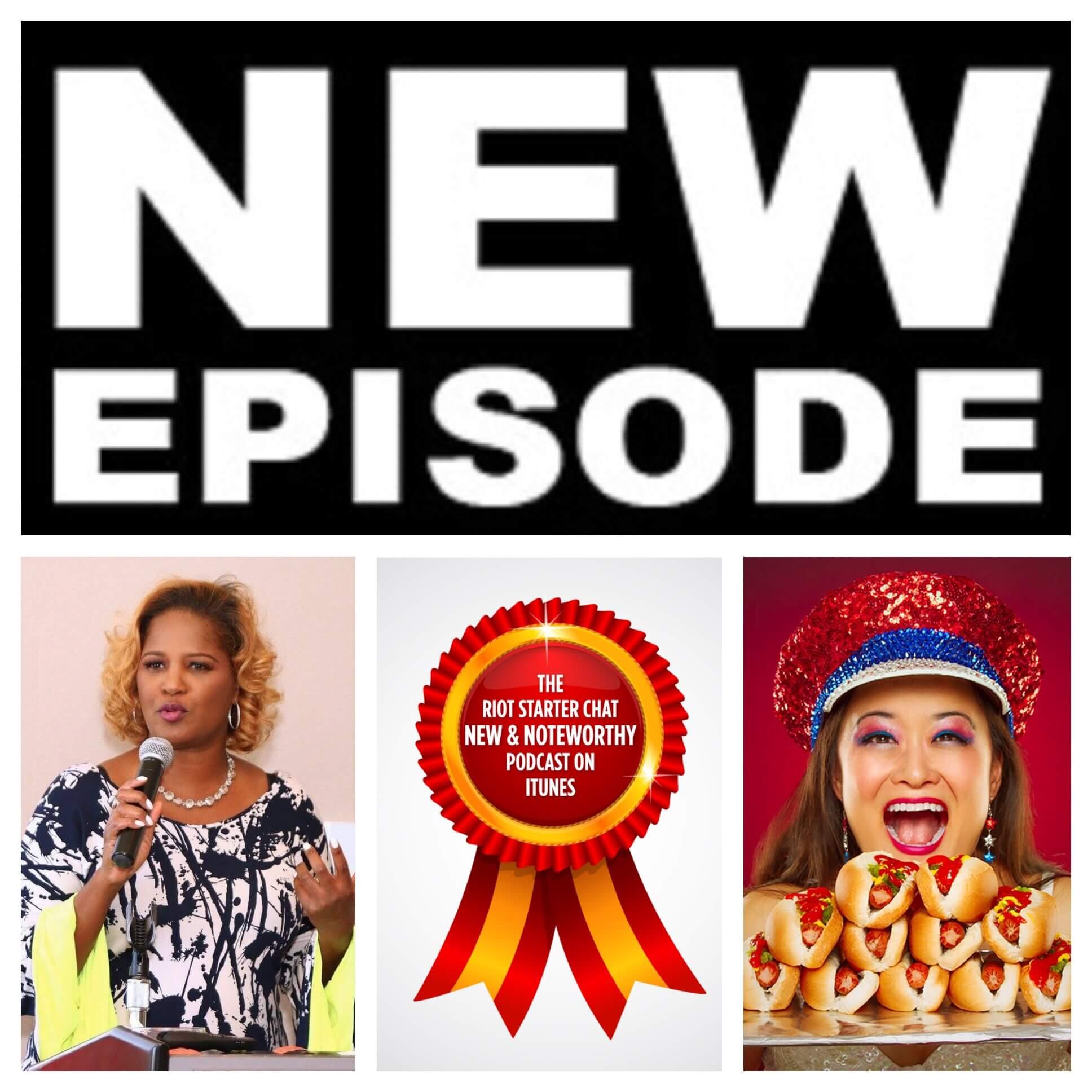 Riot Starter Podcast Episode - eatbemary