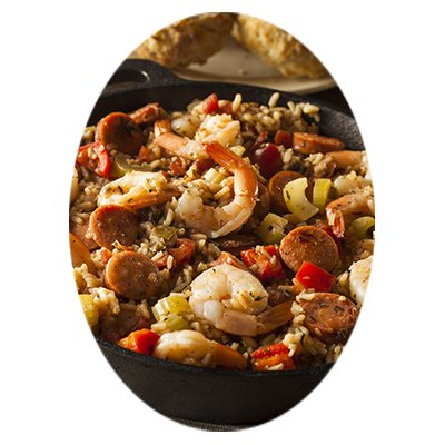 Easy Jambalaya with Shrimp, Andouille Sausage, and Rice
