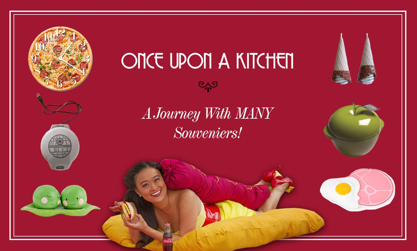 Once Upon A Kitchen: A Journey With Many Souveniers!