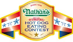Nathan's Famous Hot Dog Eating Contest Logo