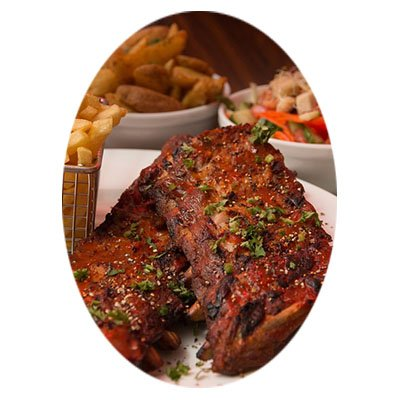 BBQ Baby Back Ribs with Tuscan BBQ Sauce
