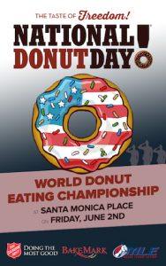 World donut eating championship logo
