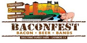 The Dell'Osso Family Farm Baconfest World Bacon Eating Championship Logo