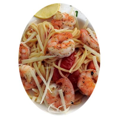 Shrimp with Fresh Herb Linguine