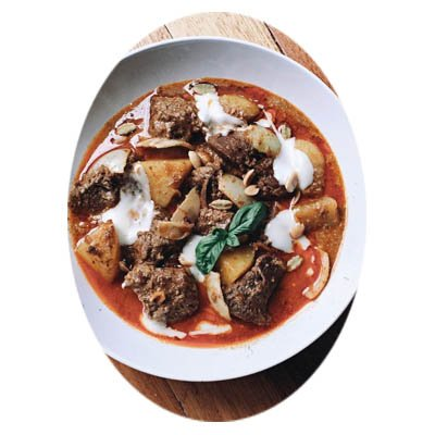 Roast Beef Bourguignon recipe.